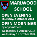 Marlwood School Open Events