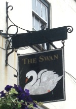 The Swan Thornbury - swinging sign