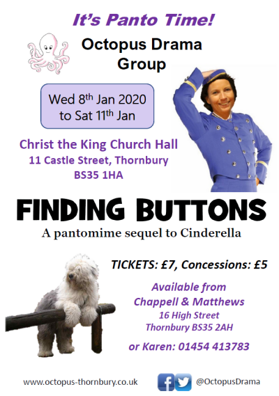 Finding Buttons Pantomime competition
