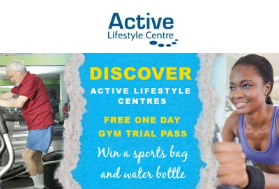 Active Lifestyle bag and bottle competition