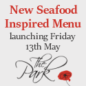 New Seafood Inspired Menu launching 13th May