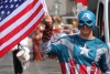 Captain America at Thornbury Carnival