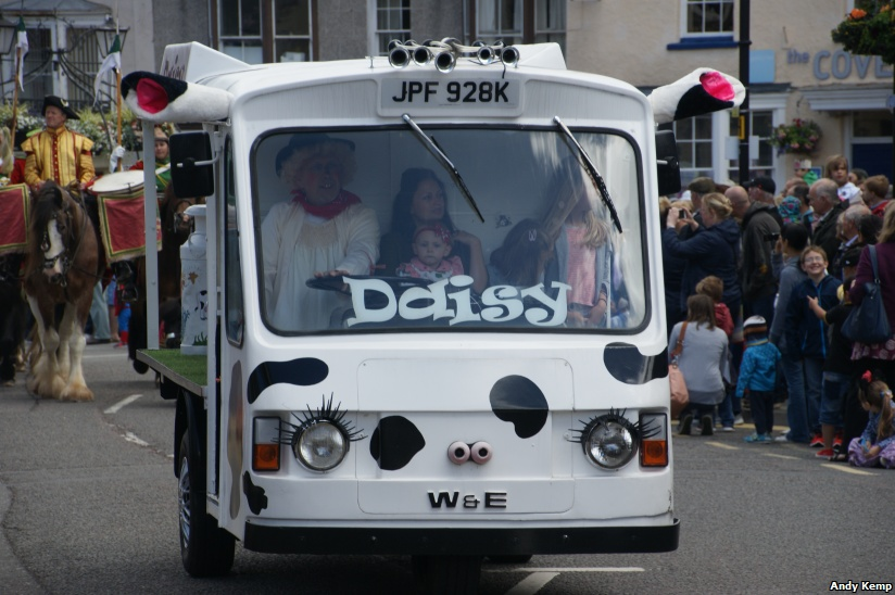 Daisy the Milk Float