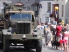 Military vehicle in the Thornbury Carnival 2010 parade