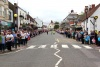 Thornbury lined with crowds