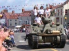 Tank on the High Street for Thornbury Carnival 2010