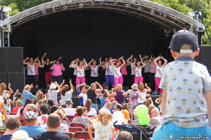 Zumba at Thornbury Carnival 2014