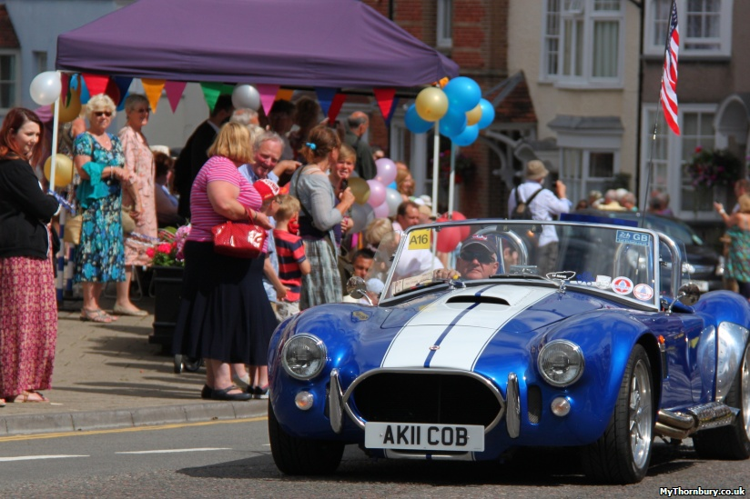 A Cobra joins the cavalcade